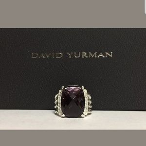 David yurman ring Amethyst